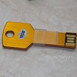 USB флешка-ключ 16Гб «Золотой» ключик