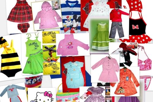 китайская детская одежда