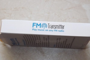 FM transmitter. Play music on any FM radio