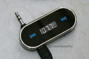 FM трансмиттер для компьютера в действии