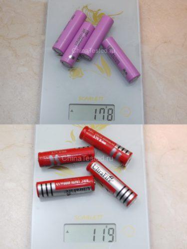 Сколько весит литий ионный аккумулятор