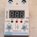 Реленапряженияоднофазное,для установки на DIN-рейку, 32А и 60А