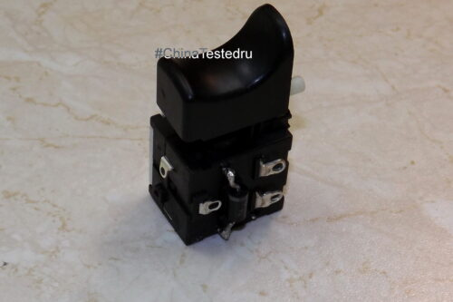 Кнопка шуруповёрта NIKKEY Jlevel FA021-58017.2-24V DC 16A