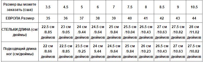 Как определить размер обуви алиэкспресс