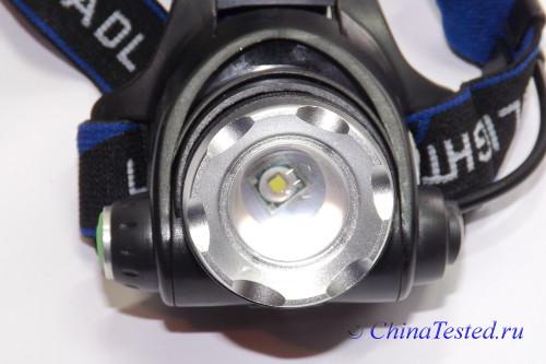 фонарь налобный светодиодный