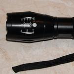 Фонарик светодиодный CREE XM-L2 T6 с линзой, очень яркий, обзор