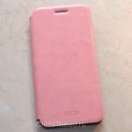 Кожаный чехол MOFi для Samsung Galaxy A3 (2016) A310F, розовый