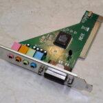 PCI звуковая карта C-Media для компьютера c Алиэкспресс, обзор.
