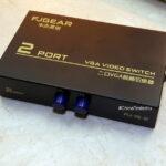 Переключатель мониторов VGA (2 входа на 1 выход) — купил на Алиэкспресс